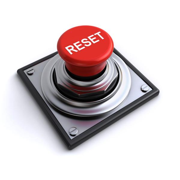 Pressing Reset Image