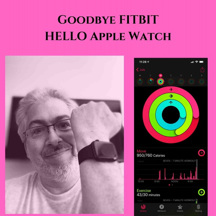 Why I Dumped My Fitbit for an Apple Watch