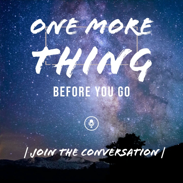 One More Thing Before You Go - The Trailer