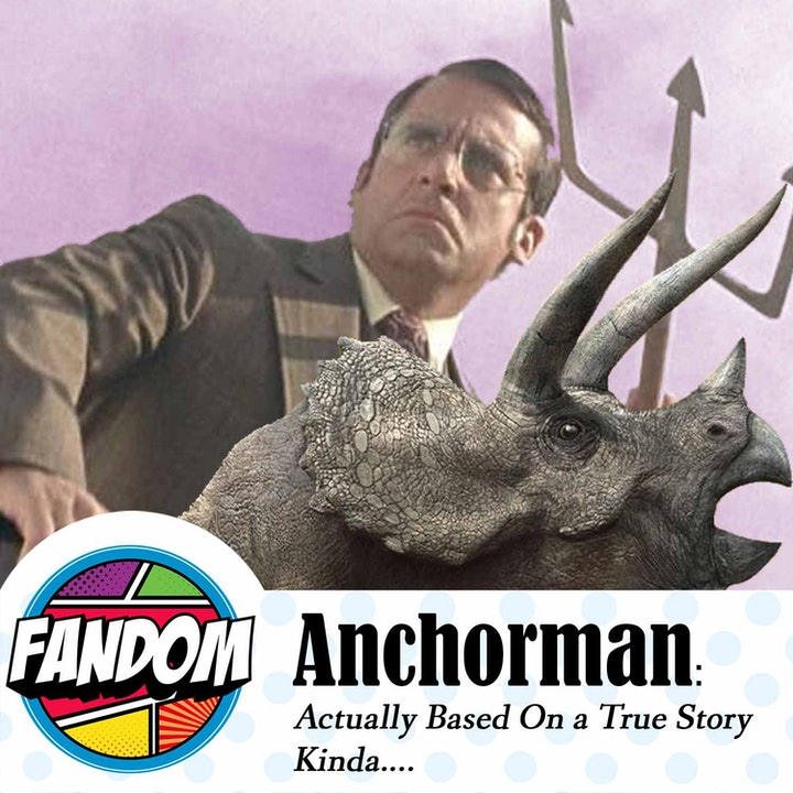 Anchorman: Actually Based on a True Story. Kinda...