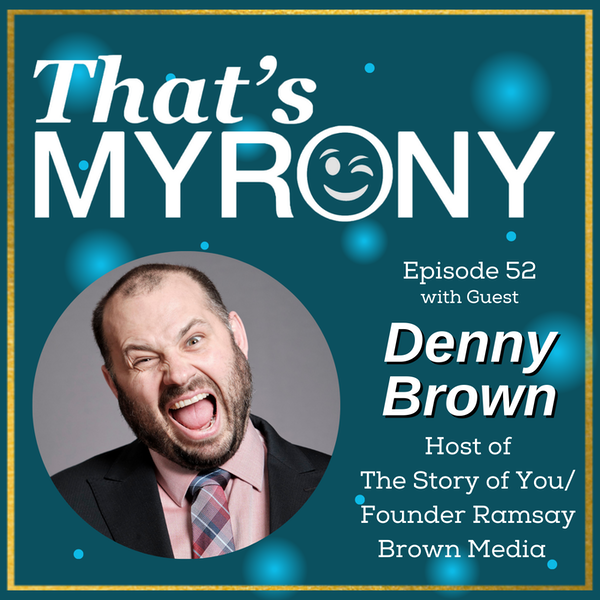 Denny Brown, Host of The Story of You Takes Over the Mic to Interview Alysha Image