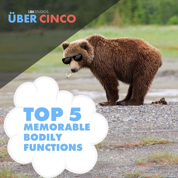 Top 5 Memorable Bodily Functions Image