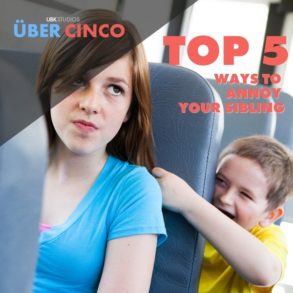 Top 5 Ways to Annoy Your Sibling Image