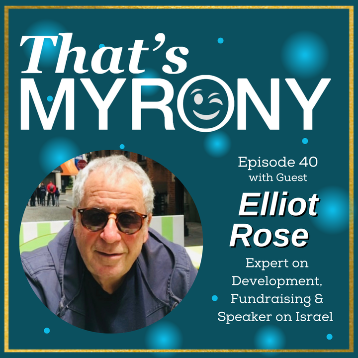 Episode image for Hear how Elliot Rose Myronically Brought Sesame Street to Israel and Later Around the World!!