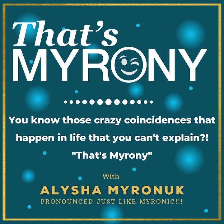 """""""That's Myrony"""" (My + Irony)"""