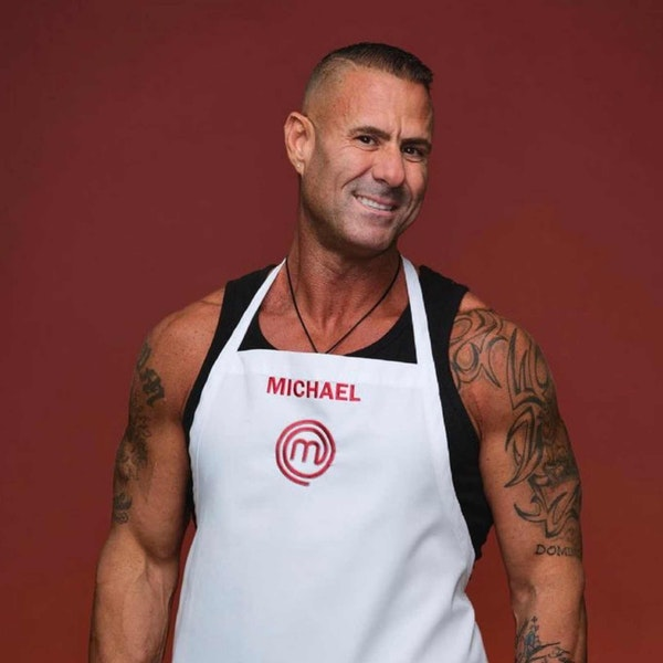 Michael Newman from Masterchef Legends and Jersey Style Image