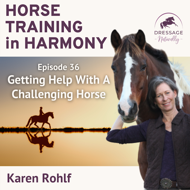Episode image for EP036: Getting Help With A Challenging Horse