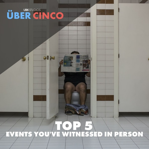 Top 5 Events You've Witnessed In Person Image
