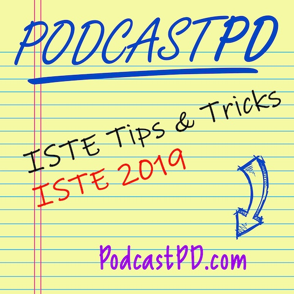 ISTE Tips and Tricks with ISTE Our Ticket Winner!