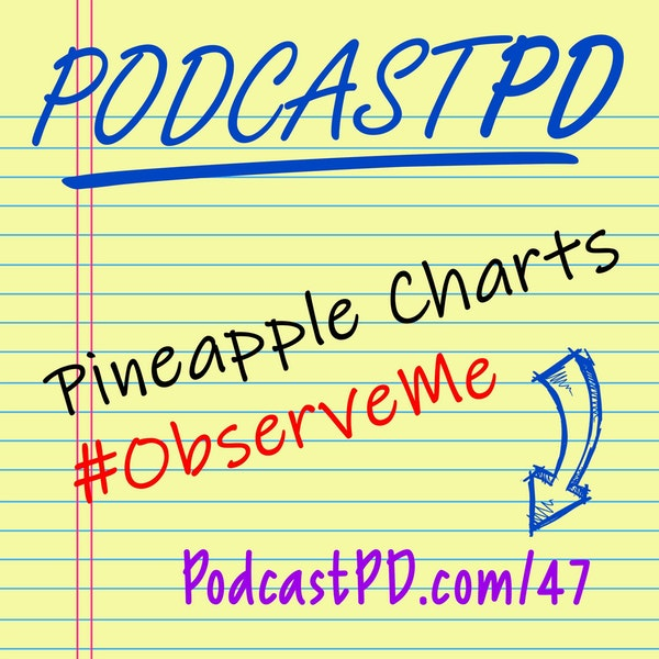 Pineapple Charts and #ObserveMe - PPD047