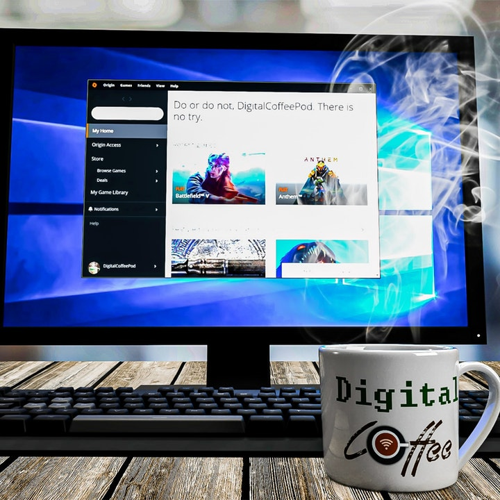 Battle of the Digital Distribution Sites: Origin