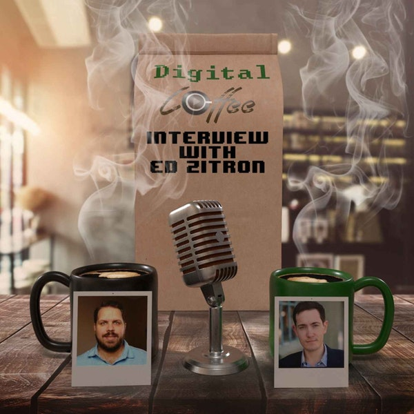 Digital Coffee Interiews Kitecaster Ed Zitron about the Gaming Industry Image