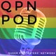QPN Pod: the Queer Podcasters' Network Podcast Album Art