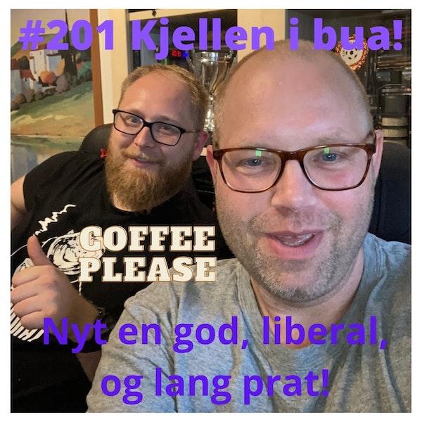 #201 Kjellen på besøk i podcastbua! Image
