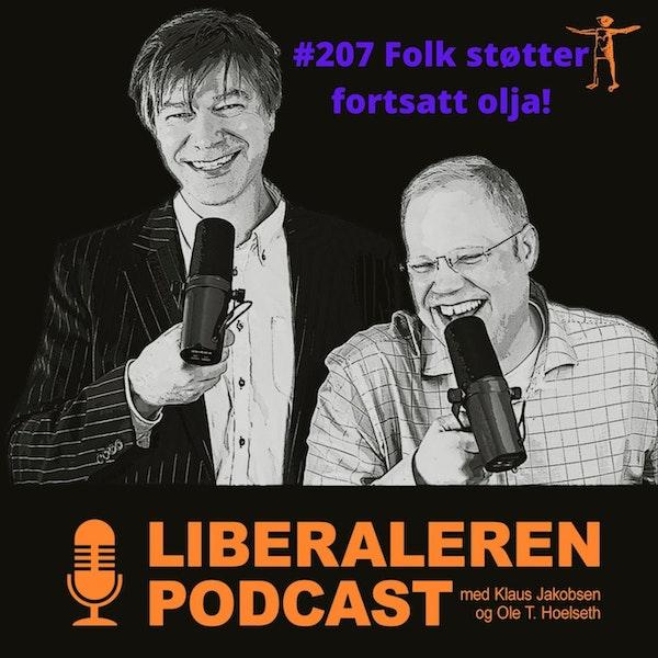 #207 Nordmenn flest støtter fortsatt oljenæringen Image