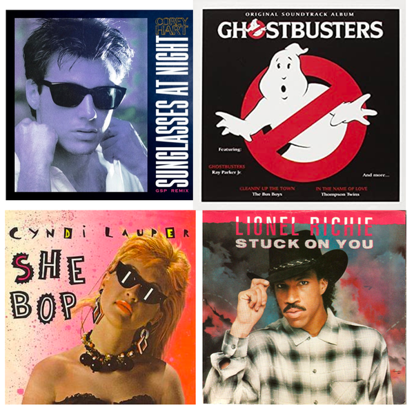 '84 Tunes: Glasses, Ghosts and Going Crazy