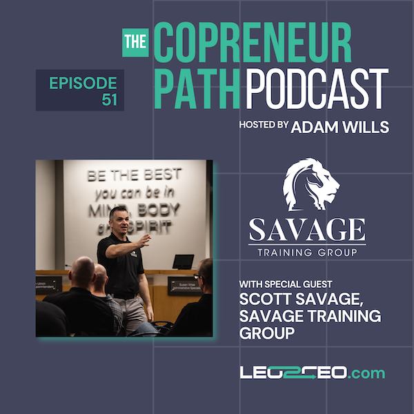 Three Key Concepts To Consider When Launching A Post-Law Enforcement Business with Scott Savage Image