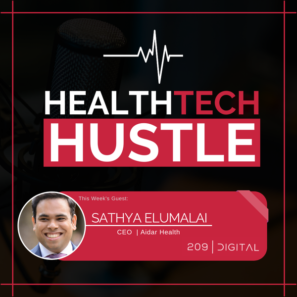 """Episode 7: """"The One-Stop Device for Chronic Illnesses Data Collection""""   Sathya Elumalai , Aidar Health Image"""