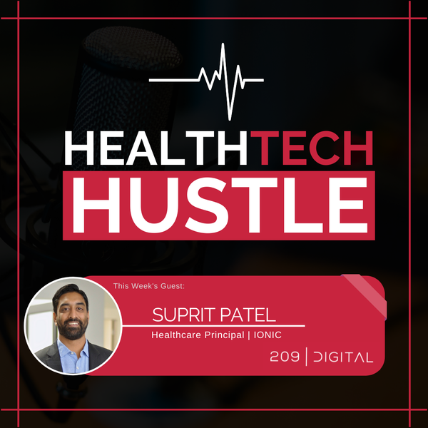 """Episode 22: """"The Importance of Healthcare Data Security""""   Suprit Patel, Ionic Image"""
