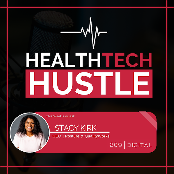 """Episode. 10: """"An Affordable Digital Security and Privacy Officer in the Healthcare Industry""""   Stacy Kirk, Posture and QualityWorks. Image"""