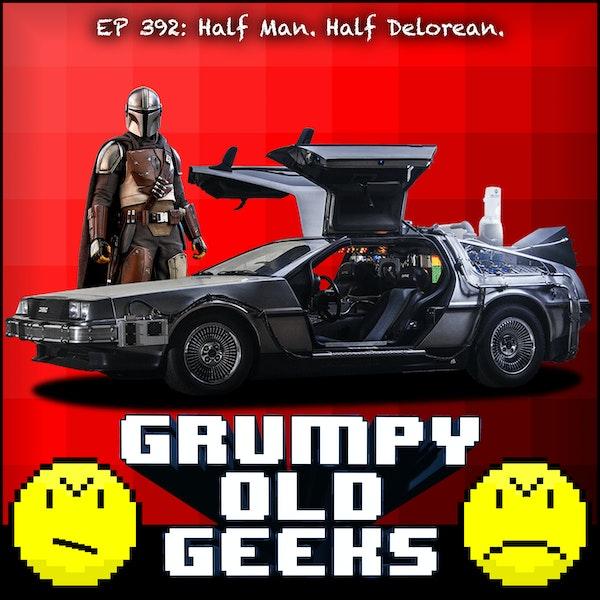 392: Half Man. Half Delorean. Image