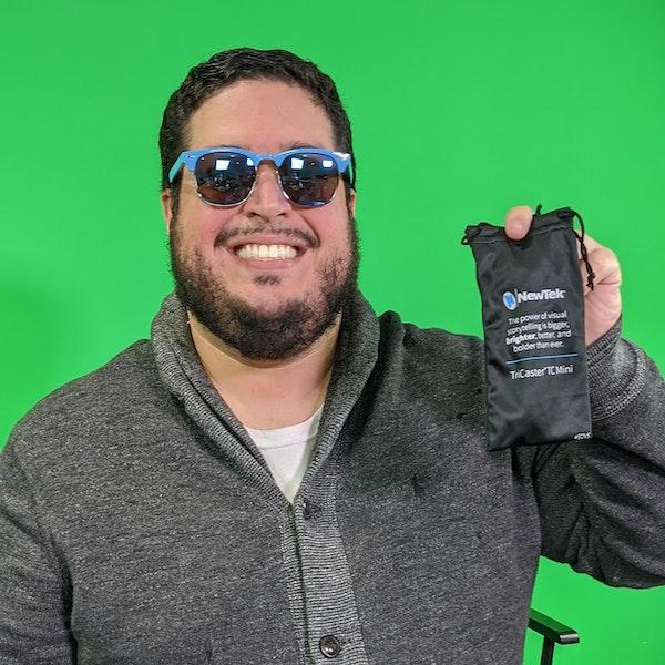 NewTek Sales Engineer Chris Burgos on providing storytellers a voice through video