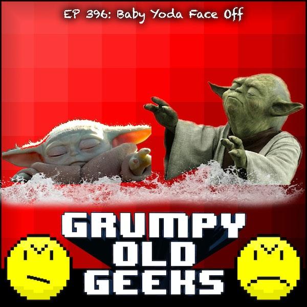 396: Baby Yoda Face Off Image