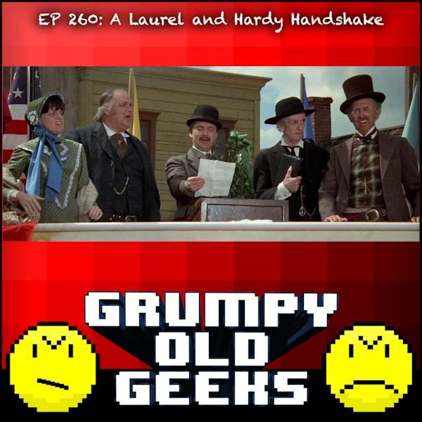 260: A Laurel and Hardy Handshake Image