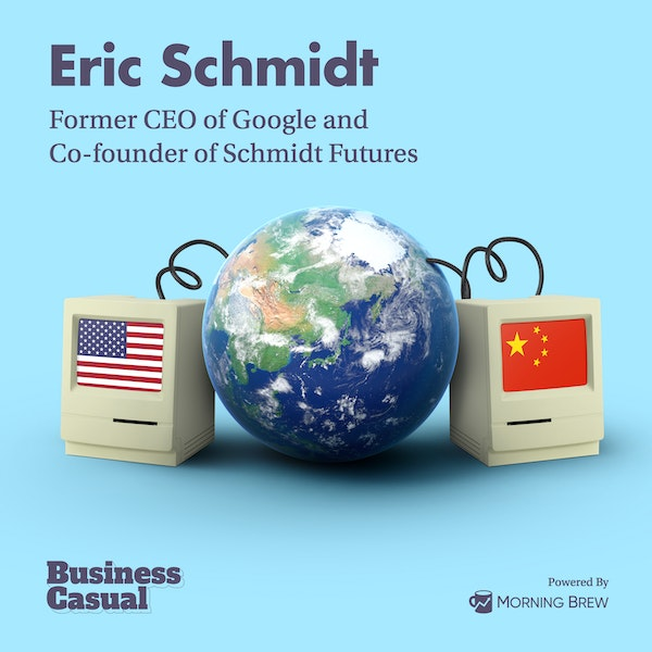 Why Ex-Google CEO Eric Schmidt is working for the government Image