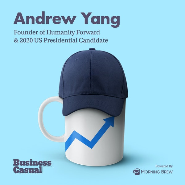 Andrew Yang is literally trying to give you money Image