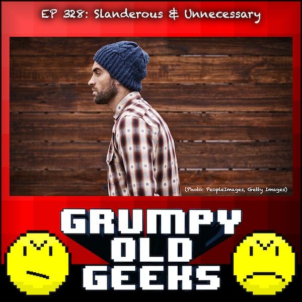 328: Slanderous & Unnecessary Image