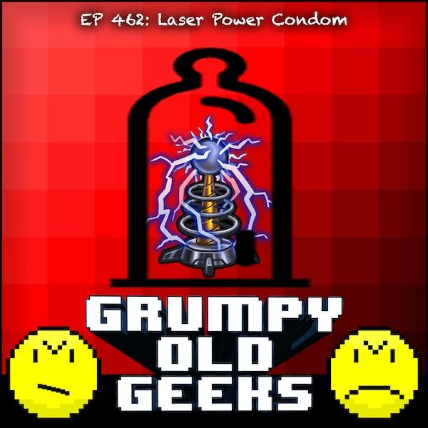 462: Laser Power Condom Image