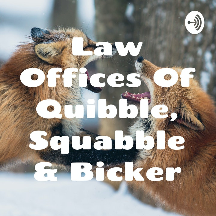 The Law Offices Of Quibble, Squabble & Bicker