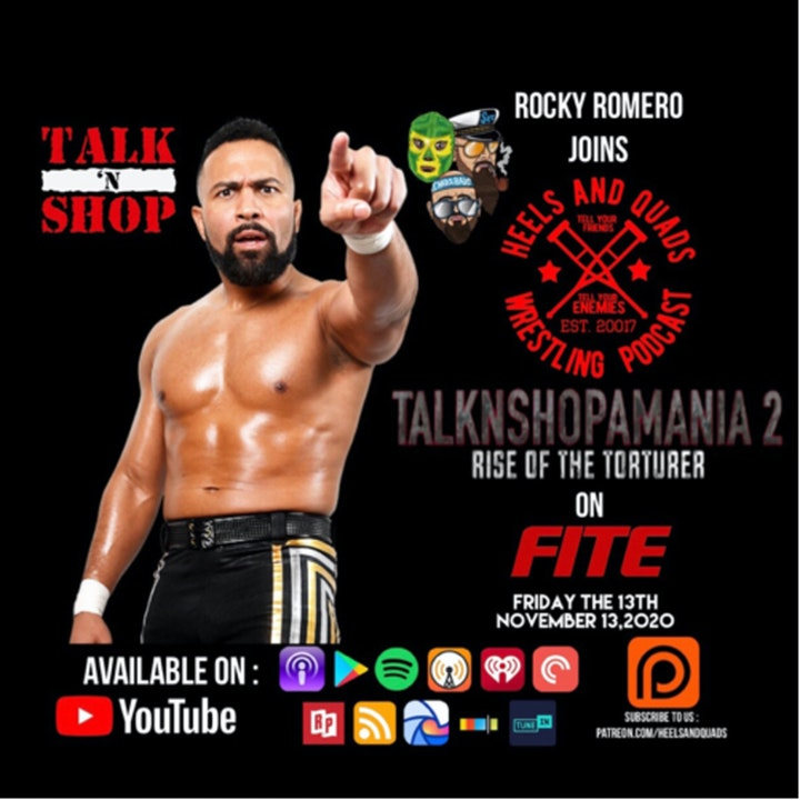 Episode image for 236. Guest: Rocky Romero