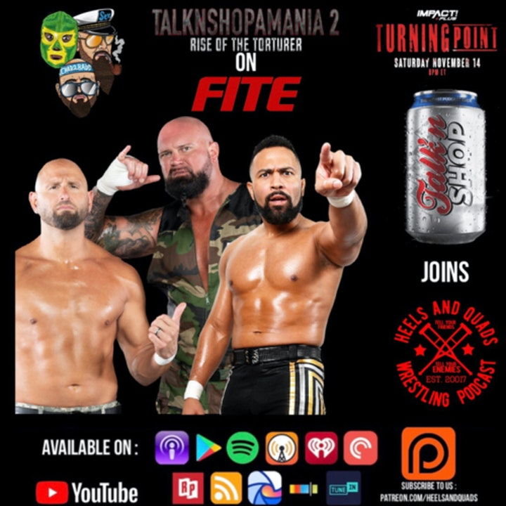 Episode image for 237. Guests: TalkNShop with Doc Gallows, Karl Anderson and Rocky Romero