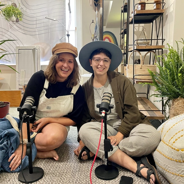 """Emily and Mariah of Wild Water Collective in Orleans on """"3-Minutes"""" Hosted by Stephanie Viva"""