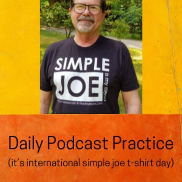 it's international simple joe t-shirt day