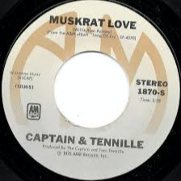 Woodside tells the crazy story behind the song Muskrat Love by Captain and Tennille Image