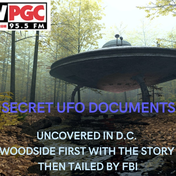 UFO Documents uncovered by Woodside in DC Image