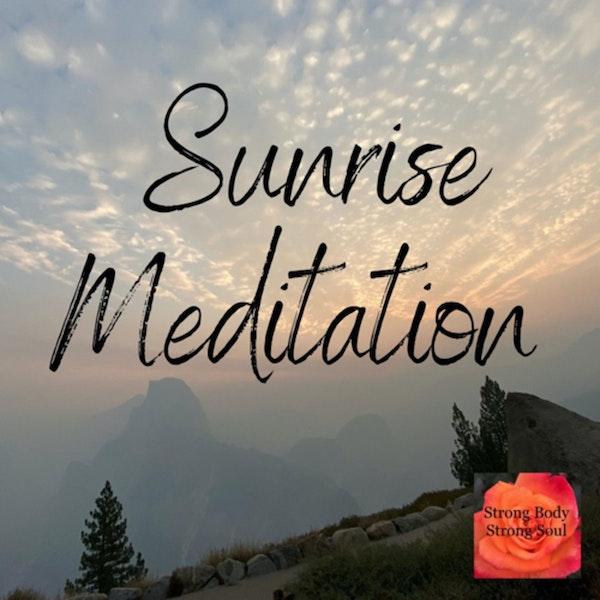 Sunrise Meditation 🧘🏻♀️