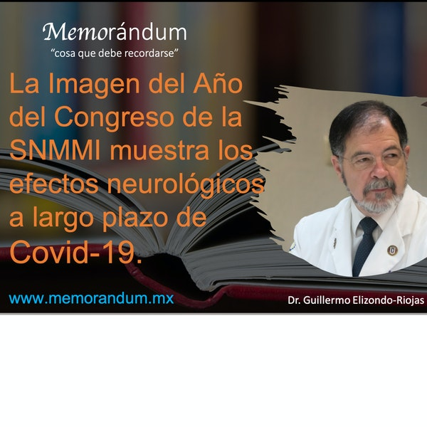 La Imagen del Año del Congreso de la SNMMI muestra los efectos neurológicos a largo plazo de Covid-19.