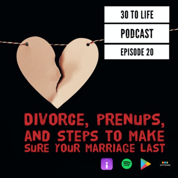 Ep 20: Divorce, Prenups, And Steps To Make Sure Your Marriage Last Image