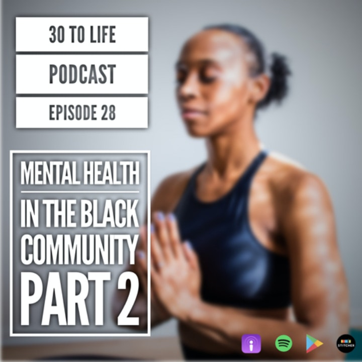 Ep 28: Mental Health And The Associated Stigmas In The Black Community Part 2