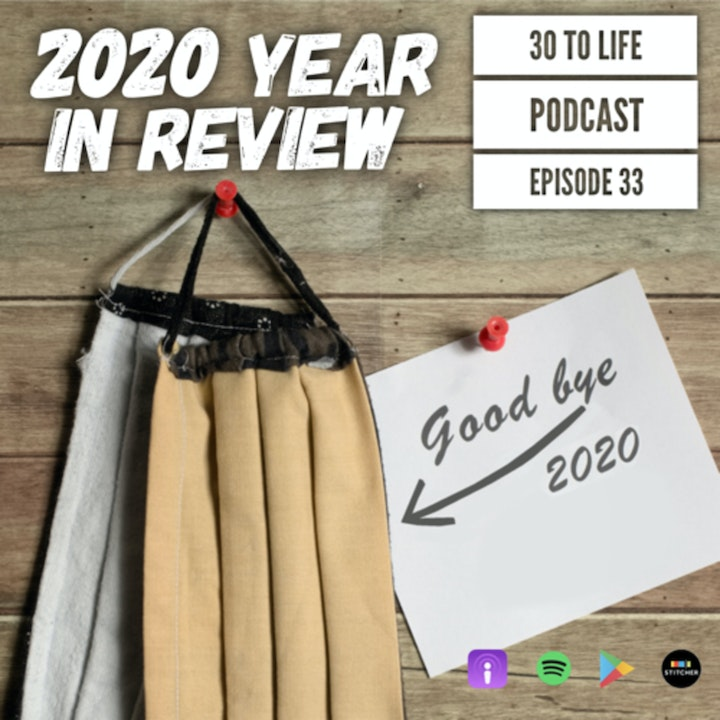 Ep 33: 2020 Year in Review - Politics, Social Awakenings, COVID-19, Black Lives Matter, And More