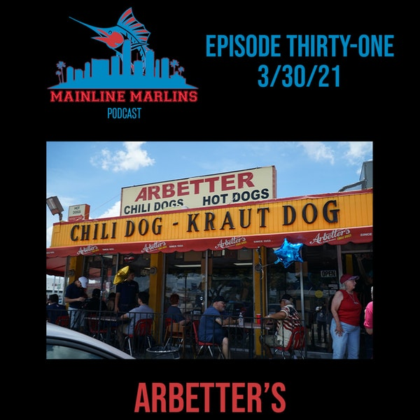 Episode 31 of the Mainline Marlins Podcast with Tommy Stitt and Special Guest Dave Arbetter Image