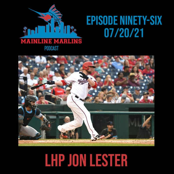 Episode 96 of the Mainline Marlins Podcast with Tommy Stitt & Red Berry Image
