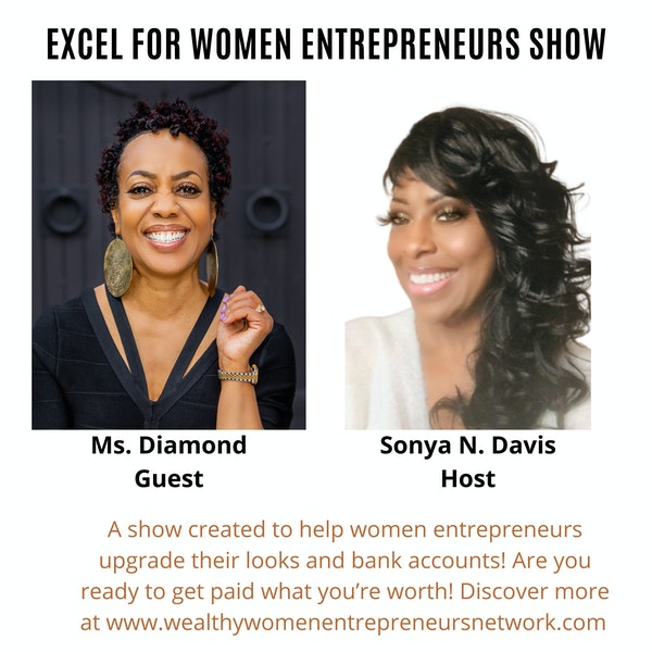 Greater Living After 50 with Ms. Diamond and Sonya N. Davis Image
