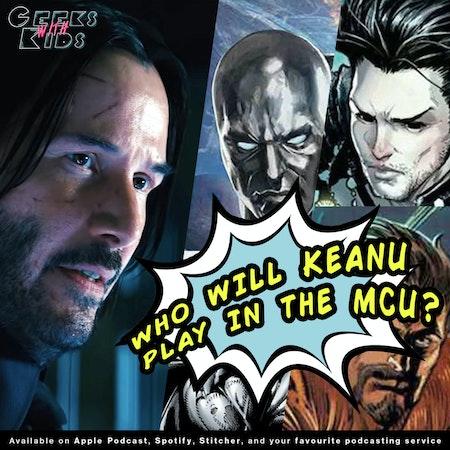 BONUS - Who should Keanu Reeves play in the MCU?? Image