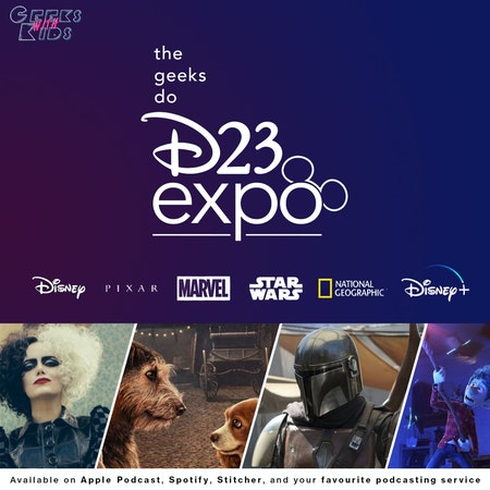 118 - The Geeks Do D23 Image