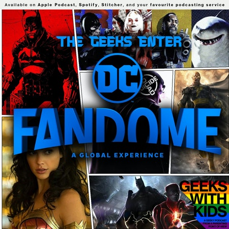 146 - The Geeks Enter DC FanDome Image